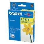 Brother LC37Y Yellow Cartridge