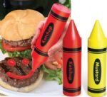 Condiment Crayons - Have Fun With Your Food