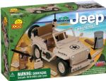 Small Army 100 Piece Willy''s Desert MB Jeep