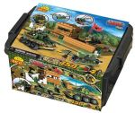 Small Army 450 Piece Jungle Base Military Units Tub