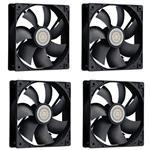 Cooler Master 120mm  Case Fans 4-Pack (R4-S2S-124K-GP)