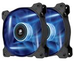 Corsair Air Series SP120 Blue LED 120mm High Static Pressure Fan - Twin Pack