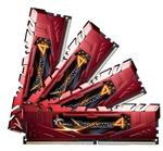 G.Skill Ripjaws 4 16GB (4x 4GB) DDR4 2400MHz Memory Red
