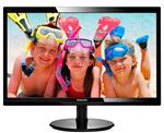"Philips 246V5LHAB 24"" Full HD LED Monitor with stereo speakers"