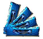G.Skill Ripjaws 4 16GB (4x 4GB) DDR4 2133MHz Memory Blue