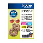Brother LC233 Photo Value Pack Refer to singles Misc Consumables