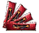 G.Skill Ripjaws 4 32GB (4x 8GB) DDR4 2133MHz Memory Red