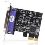 StarTech 1 Port PCIe LP Parallel Adapter Card