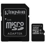 Kingston SDC10G2 32GB microSDHC Class 10 UHS-I Memory Card - 45MB/s