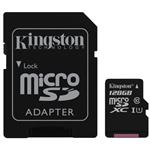 Kingston SDC10G2 128GB microSDXC Class 10 UHS-I Memory Card - 45MB/s