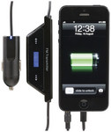 In-Car FM Transmitter and Charger to suit iPhone 5