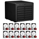 Synology DS2415+ 12 Bay NAS + 12x WD WD40EFRX 4TB Red NAS HDD