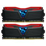 GeIL SUPER LUCE 32GB (2x 16GB) DDR4 2400MHz Memory Red