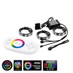 Deepcool RGB 360 Colour LED Strip Magnetic Lighting Kit With Remote
