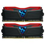 GeIL SUPER LUCE 16GB (2x 8GB) DDR4 3000MHz Memory Red