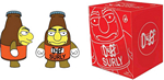 "The Simpsons - Surly Duff 3"" Figure"