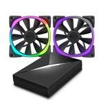 NZXT Aer RGB 2x 120mm Fans and HUE+ Controller Pack