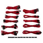 Corsair DC Premium Sleeved Cable Pro Kit Type 4 Gen 3 - Red