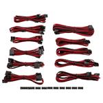Corsair DC Premium Sleeved Cable Pro Kit Type 4 Gen 3 - Red/Black