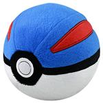 TOMY Pokemon Pokeball Plush Great Ball