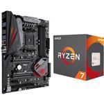 Bundle: ASUS ROG Crosshair VI Hero AM4 ATX Motherboard + AMD Ryzen 7 1700X CPU