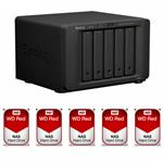 Synology DS1517+(2G) 5 Bay + 5x WD WD60EFRX 6TB Red NAS HDD