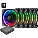Thermaltake Riing Plus 12 TT Premium Edition 120mm LED RGB Fan - 5 Fan Pack