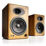 Audioengine A5+ Powered Bookshelf Speakers - Solid Bamboo