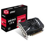 MSI Radeon RX 560 16CU Aero ITX OC 4GB Video Card