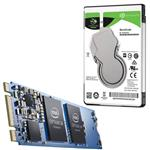 "Bundle Deal: Intel Optane 16GB M.2 + Seagate 1TB BarraCuda 2.5"" Hard Drive"