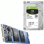 "Bundle Deal: Intel Optane 16GB M.2 + Seagate 4TB BarraCuda 3.5"" Hard Drive"