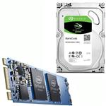 "Bundle Deal: Intel Optane 32GB M.2 + Seagate 3TB BarraCuda 3.5"" Hard Drive"