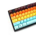 Tai-Hao MX Switch Type Doubleshot PBT 104-Key ANSI Keycap Set - Hawaii