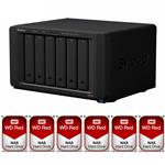 Synology DS3018xs 6 Bay NAS + 6x WD WD30EFRX 3TB Red NAS HDD