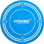 AK Racing Circular Chair Mat - Blue