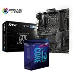 Bundle Deal: MSI Z370 PC PRO 1151-2 ATX Motherboard + Intel Core i3 8350K CPU
