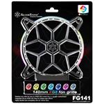 SilverStone FG141 140mm RGB LED Fan Grille