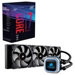 Bundle Deal: Intel Core i7 8700K Hex Core CPU + Corsair Hydro Series H150i