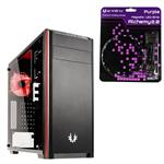 Bundle Deal: Bitfenix Nova TG Mid-Tower Case + Bitfenix Alchemy Purple LED Strip