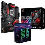Bundle Deal: Intel i5 8600K + ASUS ROG STRIX Z370-H GAMING ATX Motherboard