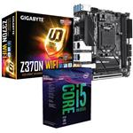 Bundle Deal: Intel i5 8600K + Gigabyte Z370N WiFi Mini-ITX Motherboard