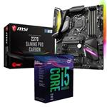 Bundle Deal: Intel i5 8600K + MSI Z370 GAMING PRO CARBON ATX Motherboard