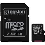 Kingston 128GB Canvas Select microSDXC UHS-I Class 10 Memory Card - 80MB/s