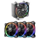 Bundle Deal: 3 Pack Thermaltake Riing RGB Radiator Fans + Riing Silent 120mm Fan
