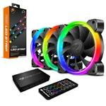 Bundle Deal : Cougar Vortex HPB 120 RGB LED 3 Packs + Cougar RGB LED Strips