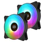 Double Up Bundle: Cooler Master MasterFan MF120R ARGB 120mm Fan