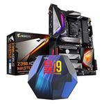 Bundle Deal: Intel Core i9 9900K CPU + Gigabyte Z390 AORUS MASTER Motherboard