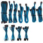 Corsair Premium Individually Sleeved PSU Cables Pro Kit - Blue/Black