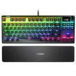 SteelSeries Apex 7 TKL OLED Mechanical Gaming Keyboard - QX2 Blue Switches