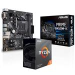 Bundle Deal: AMD Ryzen 5 3600 CPU + ASUS PRIME B450M-K M-ATX Motheboard